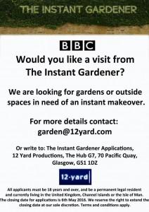 Flyer Instant Gardener Series 2
