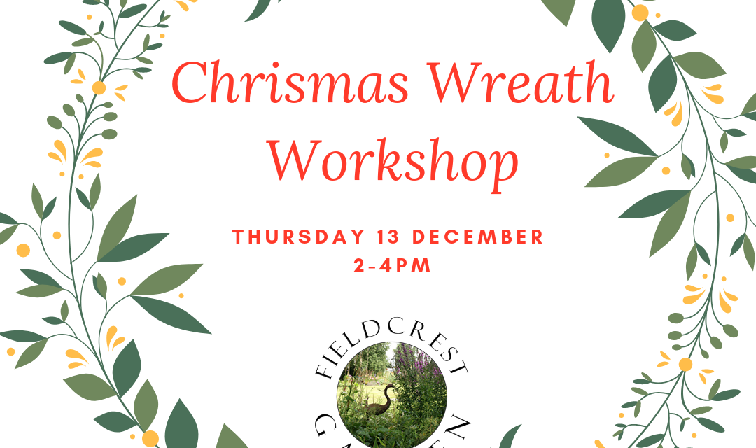 Christmas Wreath Making 13 December 2018