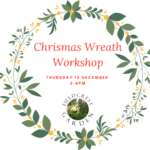 Christmas Wreath Making 13 December 2018