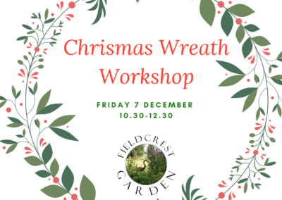 Christmas Wreath Making 7 December 2018 – FULLY BOOKED