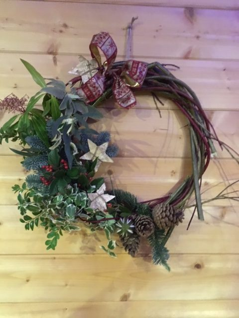 Christmas Willow Wreaths